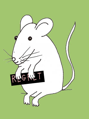 regret mouse illustration, n.christensen