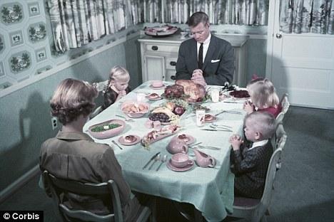 1950s dinner